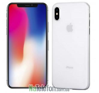 Чехол Ultra-thin 0.3 для iPhone Xs Max White