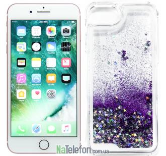 Жидкий чехол Glitter Series 2 для iPhone 7/8 Purple