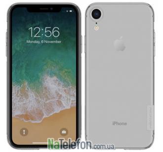 Чехол NILLKIN Nature TPU для iPhone Xr Grey