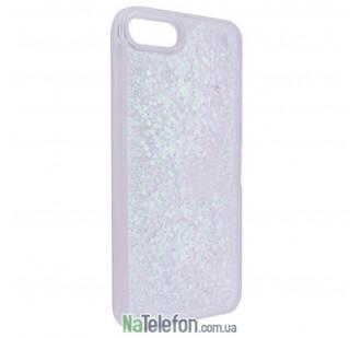 Жидкий чехол Glitter Series 2 для iPhone 7/8 Silvery