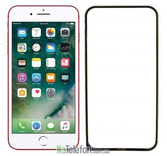 Бампер для iPhone 7 Plus (5.5) Evoque Metal черный