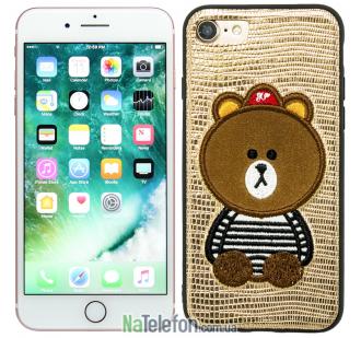 Накладка Diliana Bear for iPhone 7/8 бронза