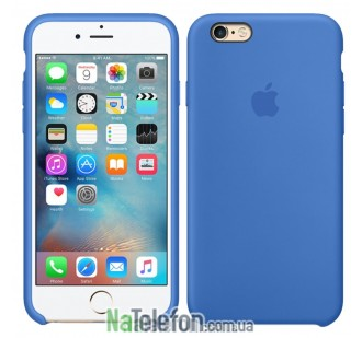 Накладка для iPhone 6/6S Hoco Silicon Case Royal Blue