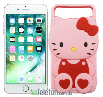 "Чехол Universal Disney для iPhone 4.7"" Hello Kitty Pink"