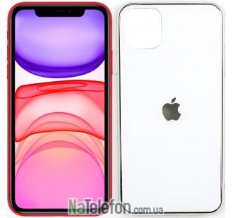 Чехол U-Like Glossy Logo для iPhone 11 Белый