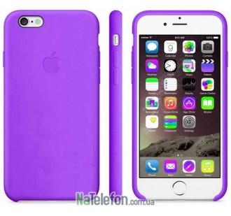 Оригинальный силиконовый чехол для iPhone 5/5s/SE Фиолетовый