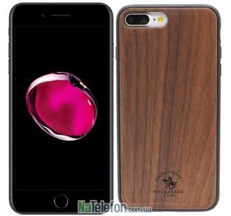 Деревянный чехол Polo Apple Timbre для iPhone 7 Plus Walnut