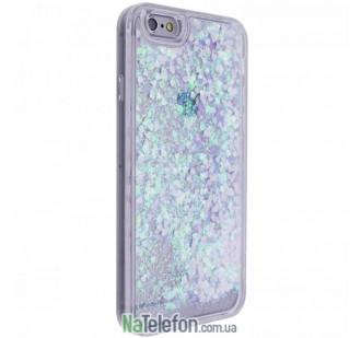 Жидкий чехол Glitter Series 3 для iPhone 7/8 Sky Blue