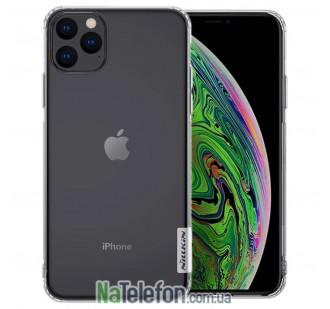 "Чехол силиконовый NILLKIN Nature TPU для iPhone 11 Pro Max (6.5"") White"