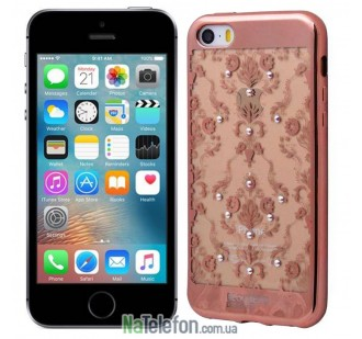 Накладка для iPhone 5G/5S/5SE BECKBERG Golden Faith Series TPU
