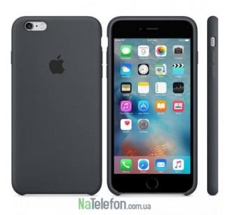 Оригинальный силиконовый чехол для iPhone 5/5s/SE Светло Серый