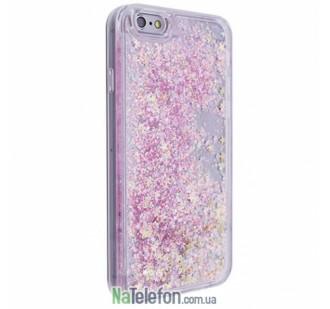 Жидкий чехол Glitter Series 3 для iPhone 7/8 Pink
