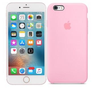 Оригинальный силиконовый чехол для iPhone 6/6s Plus Ярко розовый