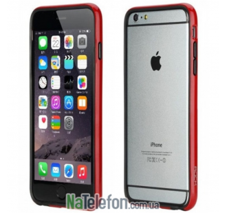 "Бампер ROCK Duplex Slim Guard для Apple iPhone 6/6s plus (5.5"") (Красный / Red)"