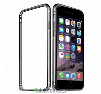 Бампер Metalic Slim для iPhone 7 Plus Black