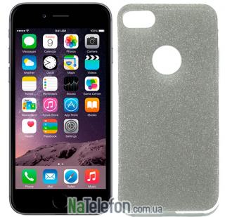 Силиконовый блестящий чехол Remax Glitter Silicon для iPhone 6 Plus Black