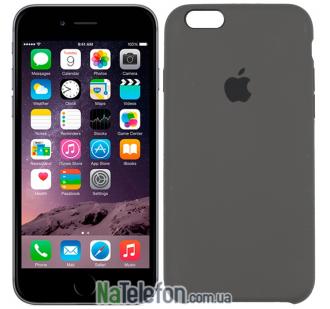 Оригинальный силиконовый чехол для iPhone 6/6s Plus Кофейный