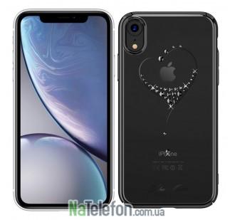 Чехол Kingxbar Diamond Series для iPhone XR Heart Black