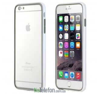 "Бампер ROCK Duplex Slim Guard для Apple iPhone 6/6s plus (5.5"") (Белый / White)"