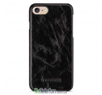 "Кожаная накладка TETDED Lava series для Apple iPhone 7 (4.7"") (Черный / Charcoal Black)"