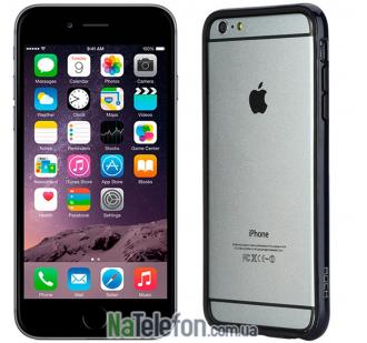 "Бампер ROCK Duplex Slim Guard для Apple iPhone 6/6s plus (5.5"") (Синий / Navy Blue)"