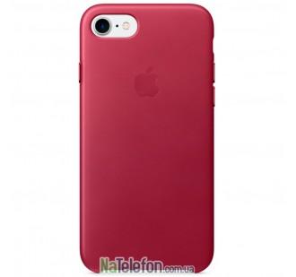 Оригинальный силиконовый чехол для iPhone 6/6s Вишневый