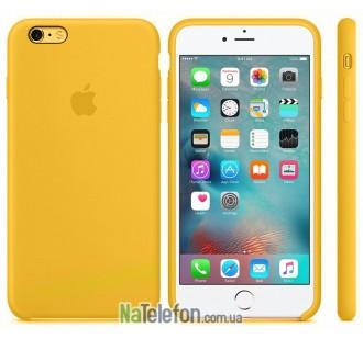 Оригинальный силиконовый чехол для iPhone 5/5s/SE Оранжевый