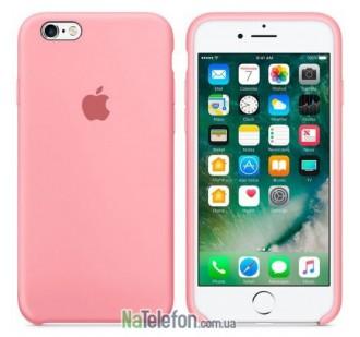 Оригинальный силиконовый чехол для iPhone 6/6s Plus Светло Розовый