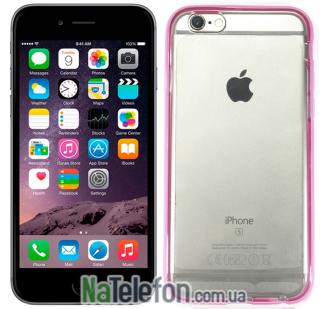 Классический бампер Devia для iPhone 6S/6 Rose Pink