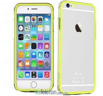 Классический бампер Devia для iPhone 6S/6 Lemon Green