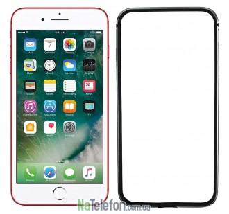 Бампер для iPhone 7 Plus (5.5) Evoque Metal серый