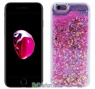 Жидкий чехол Glitter Series 2 для iPhone 7/8 Hot Pink
