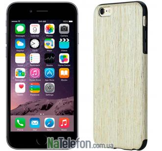 "Деревянная накладка Rock Origin Series (Grained) для Apple iPhone 6/6s (4.7"") (Nordic Walnut)"