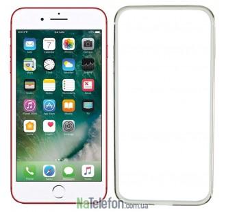 Бампер для iPhone 7 Plus Evoque Metal золотой