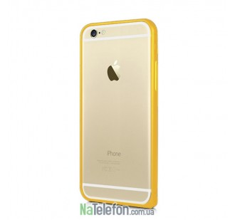 Бампер Metal Slim Elegant для iPhone 6 Plus Gold