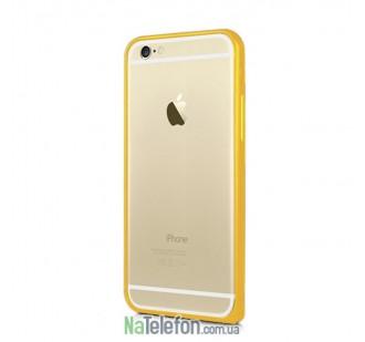 Бампер Metal Slim Elegant для iPhone 6 Gold