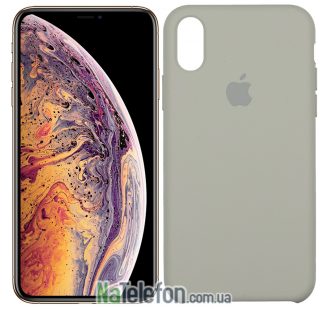 Оригинальный силиконовый чехол для iPhone Xr Галька