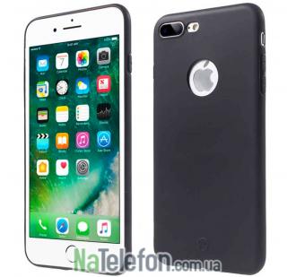 Чехол Fshang Soft Colour series для iPhone 7 Plus Black