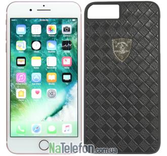 Кожаный чехол Polo Apple Fyrste для iPhone 7 Plus Black