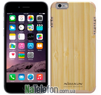 "Деревянная накладка Nillkin Knights Series для Apple iPhone 6/6s (4.7"") (Золотой)"