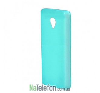 Силиконовый чехол Original Silicon Case HTC One (M7) Blue