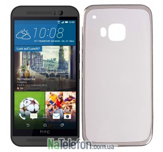 Чехол Ultra Thin Silicone Remax 0.2 mm для HTC One (M9/M9s) Black