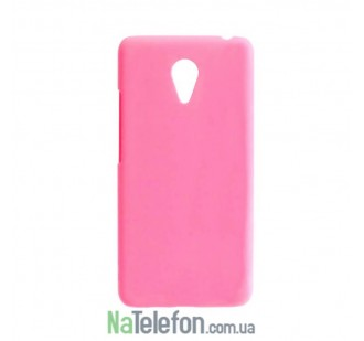 Силиконовый чехол Original Silicon Case HTC Desire 620 Pink