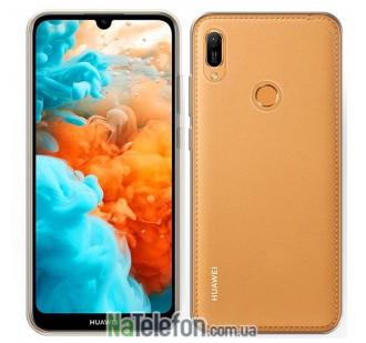 Ультра тонкий силиконовый чехол 0.3 для Huawei Y6 2019 White