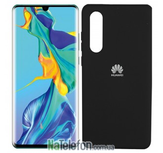 Чехол Original Soft Case Huawei P30 Чёрный FULL