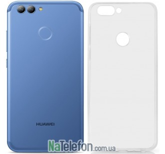 Чехол Original Silicone Case для Huawei Nova 2 White