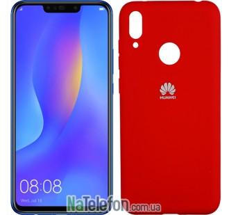 Чехол Original Soft Case для Huawei P Smart Plus 2019 Красный FULL