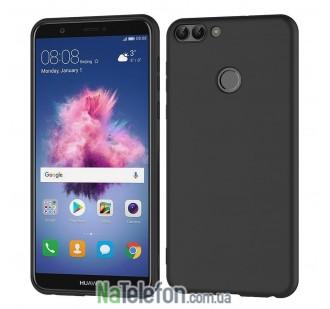 Чехол Original Silicone Case для Huawei P Smart Black