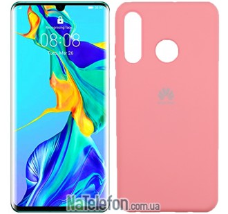 Чехол Original Soft Case для Huawei P30 Lite Розовый FULL