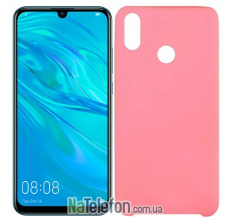 Чехол Original Soft Case Huawei P Smart 2019/Honor 10 Lite Ярко розовый